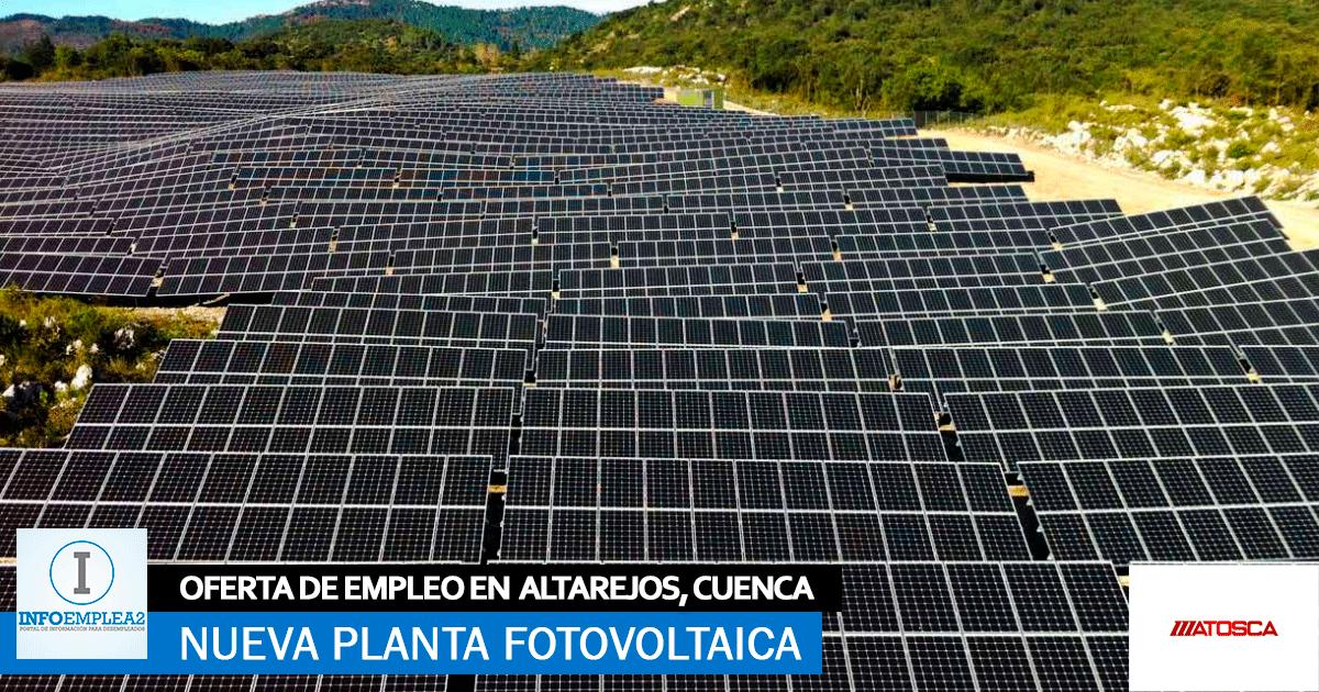 Se-necesita-Personal-para-la-Construcción-de-Nueva-Planta-Fotovoltaica-en-Altarejos,-Cuenca