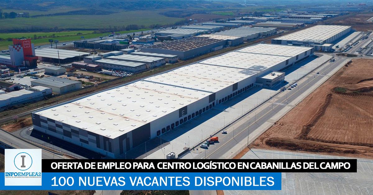 Se necesitan 100 Trabajadores en Cabanillas del Campo (Guadalajara) para Centro Logístico