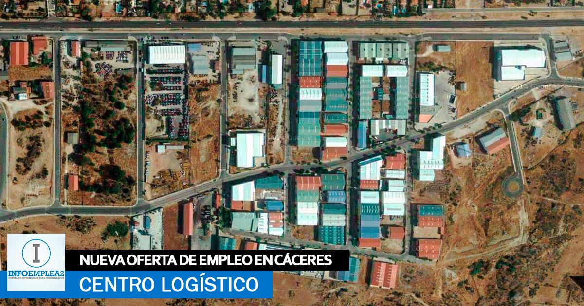 Se Necesita Personal para Centro Logístico en Cáceres, Incorporación Inmediata