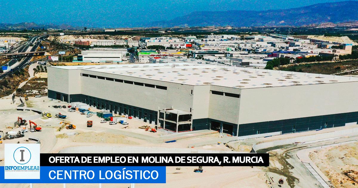 Se Necesita Personal para Centro Logístico en Molina de Segura