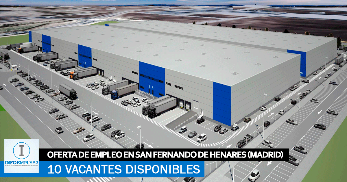 Se Necesita Personal para Centro Logístico en San Fernando de Henares