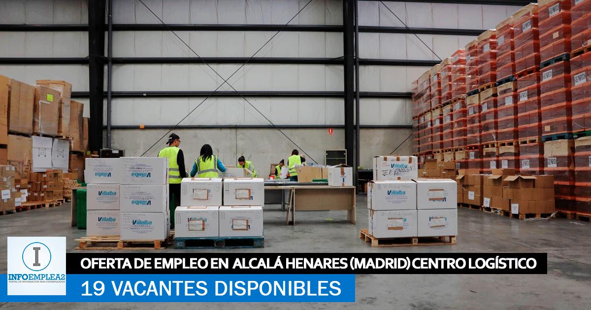 Se Necesitan Personal en Alcalá Henares (Madrid) para Centro Logístico