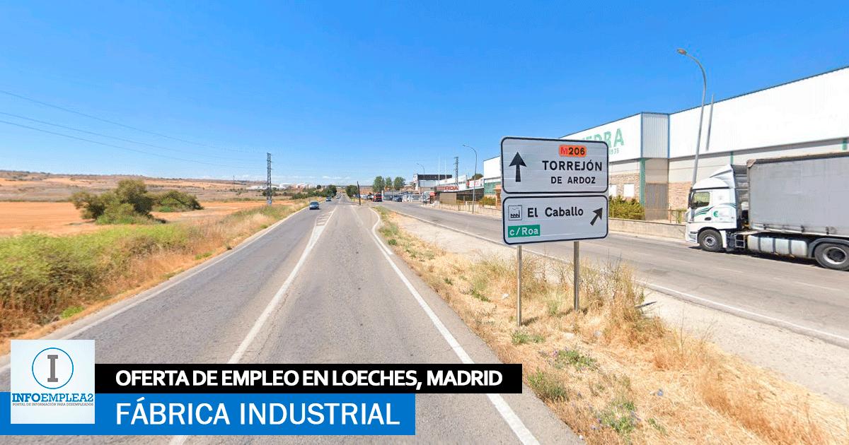 Se necesita Operarios de montaje para Fábrica en Loeches, Madrid