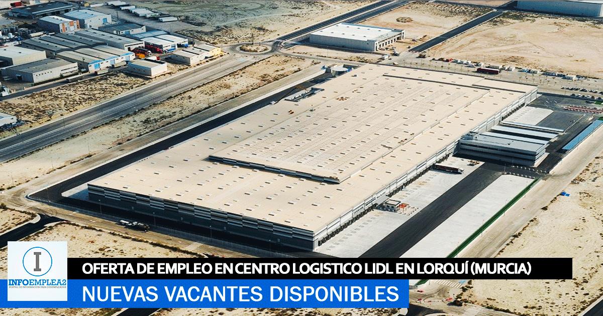 Se necesita Personal en Lorquí (Murcia) para Centro Logístico Lidl