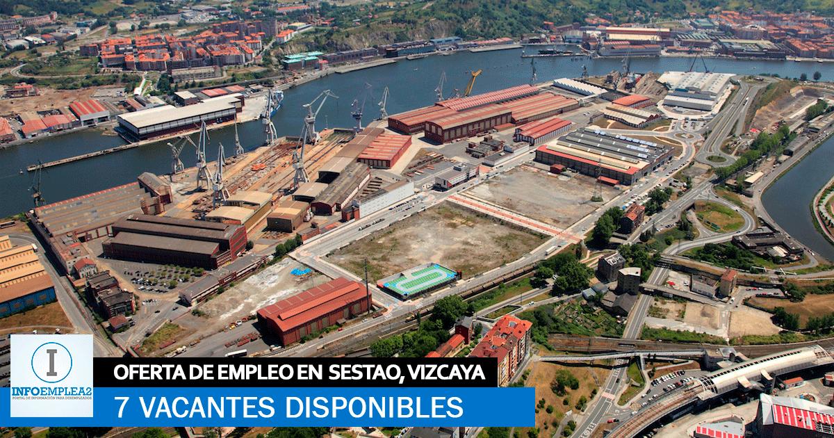 Se necesita Personal para Fábrica Industrial en Sestao, Vizcaya