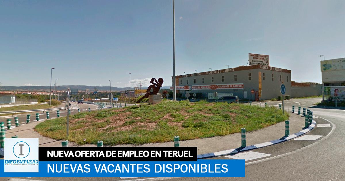 Se necesita Personal para Fábrica ubicada en Teruel.