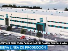 Se necesita Personal para Nueva línea de Producción en Cabanillas del Campo