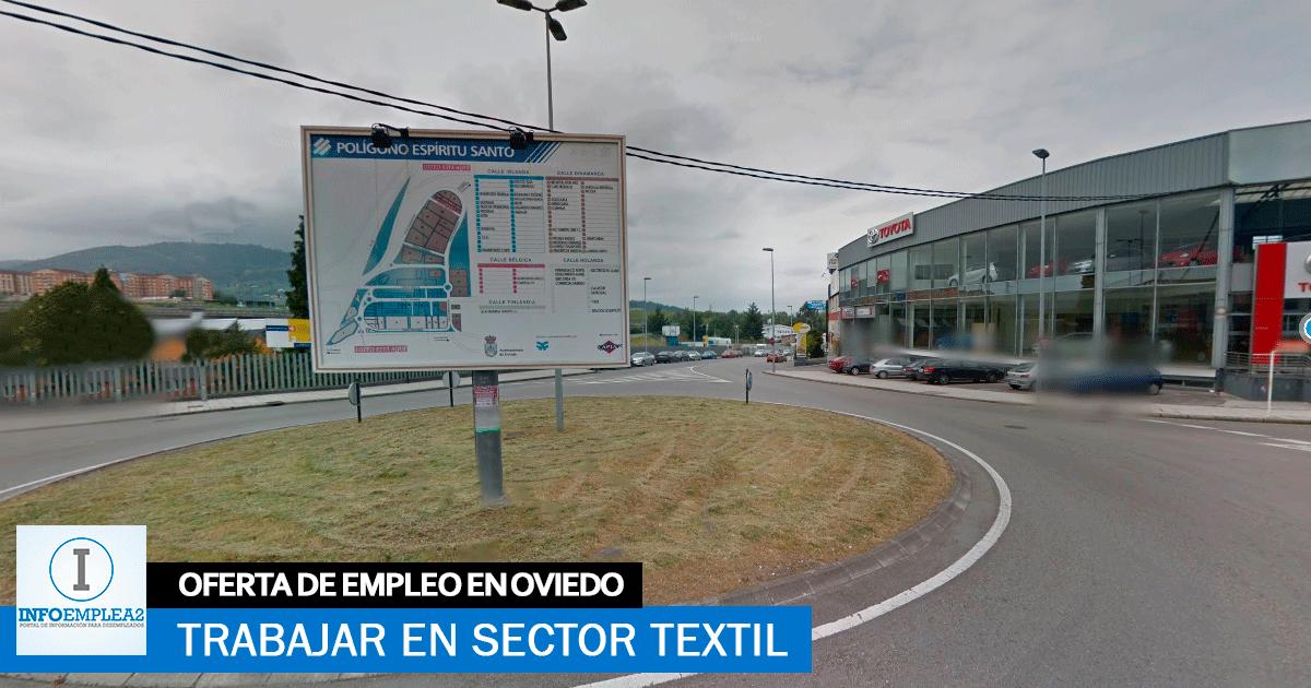 Se necesita Personal para Sector Textil en Oviedo