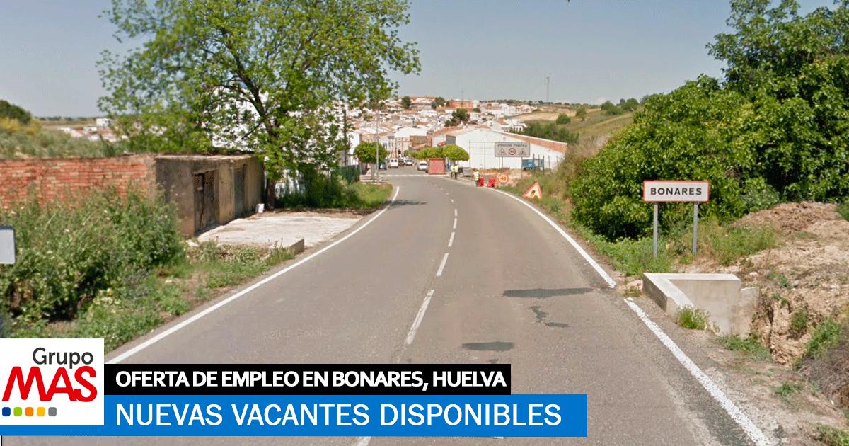 Se necesita Personal para trabajar Grupo MAS en Bonares, Huelva