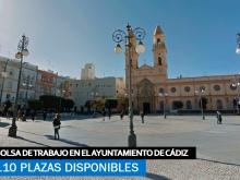 Se necesitan 110 desempleados para bolsa de trabajo en el ayuntamiento de Cádiz
