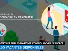 Se necesitan 150 Trabajadores en Getafe para Trabajar como Controladores De Aforo