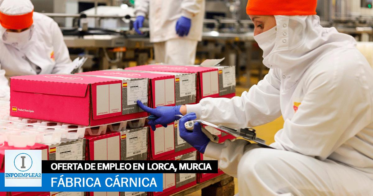 Se-necesitan-20-trabajadores-para-Fábrica-Cárnica-en-Lorca