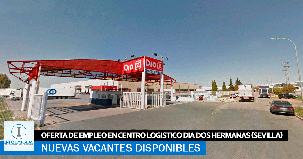 Se necesitan 5 Trabajadores en Dos Hermanas (Sevilla) para Centro Logístico DIA