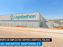 Se necesitan 100 Trabajadores en Toledo para Centro Logístico Logisfashión