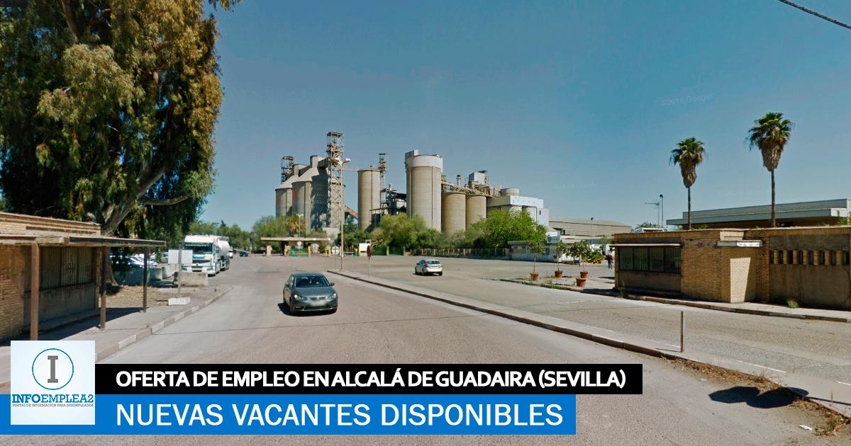 Se Necesitan Personal en Alcalá de Guadaíra (Sevilla) para Fábrica de Materiales de Construcción