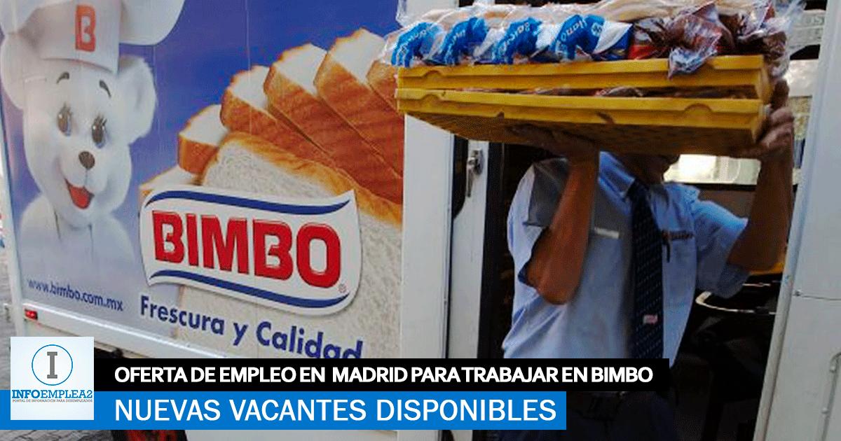 Se Necesita Personal de Reparto en Madrid para Trabajar en Bimbo