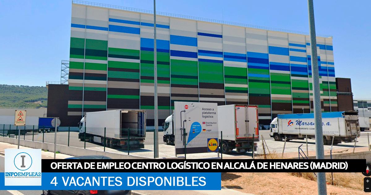 Se Necesita Personal en Alcalá de Henares (Madrid) para Centro Logístico