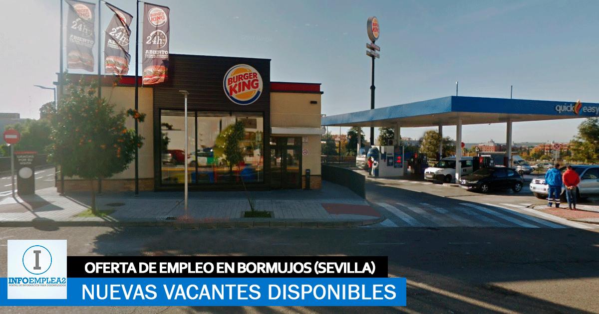 Se Necesita Personal en Bormujos (Sevilla) para Trabajar en Burger King