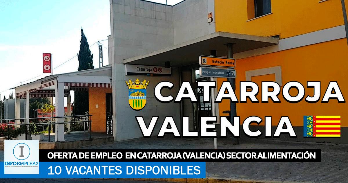 Se Necesita Personal en Catarroja (Valencia) para Cadena de Producción