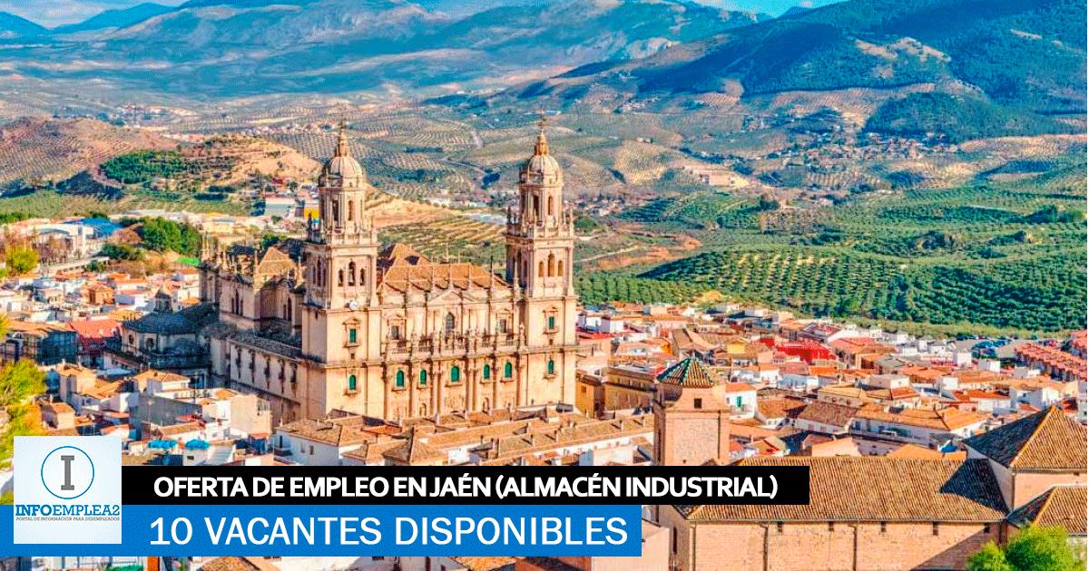 Se Necesita Personal en Jaén para Trabajar en Almacén Industrial