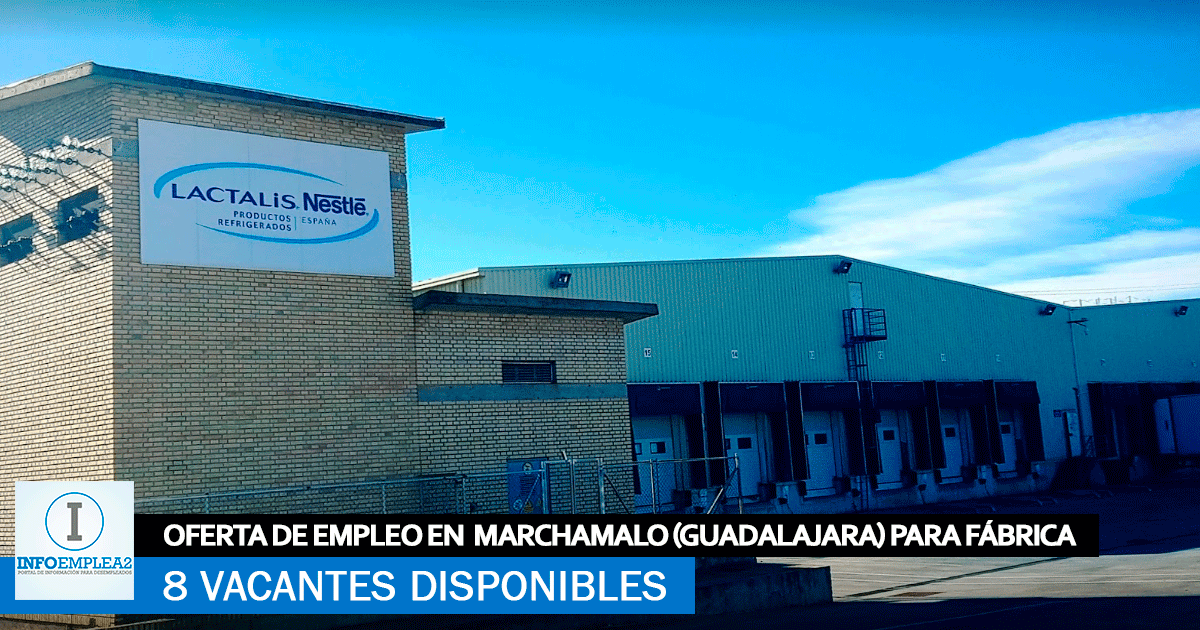 Se Necesita Personal en Marchamalo (Guadalajara) para Fábrica de Alimentación