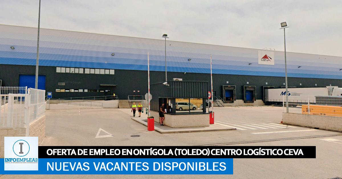 Se Necesita Personal en Ontígola (Toledo) para Centro Logístico CEVA