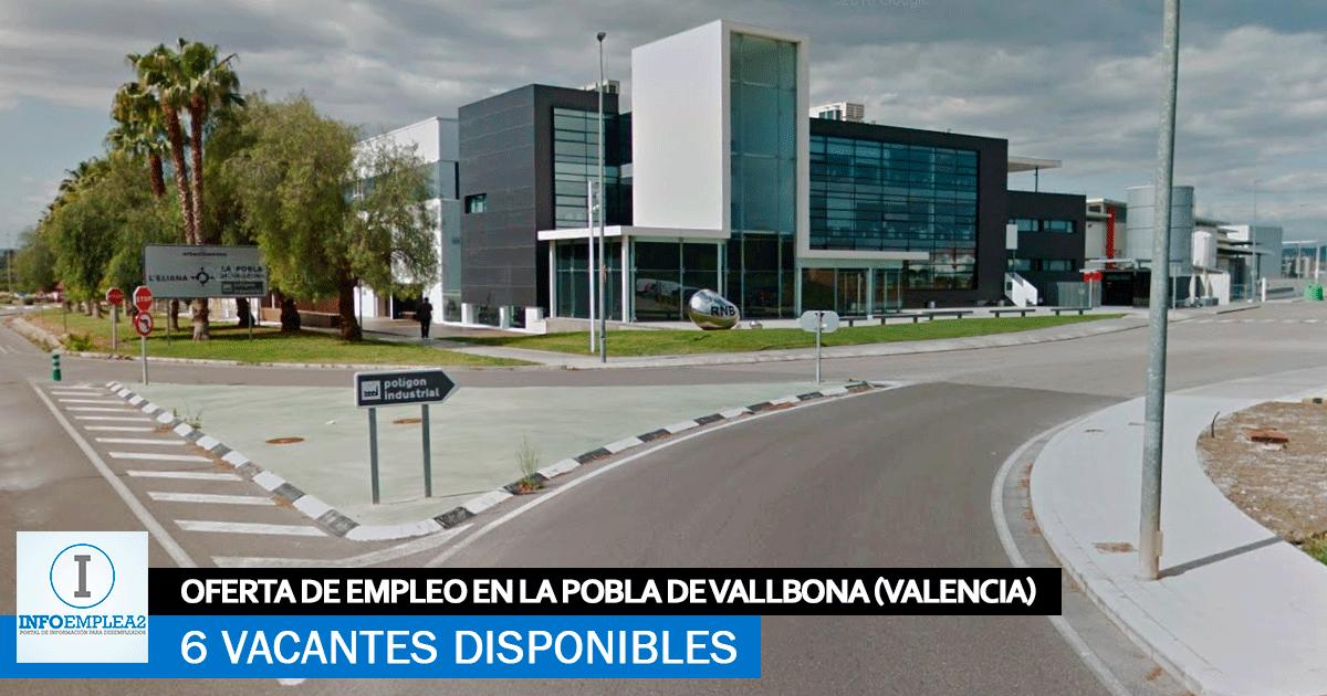 Se Necesita Personal en Pobla de Vallbona (Valencia) para Fábrica Cosmética