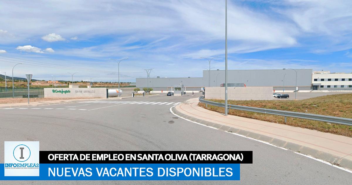Se Necesita Personal en Santa Oliva (Tarragona) para Centro Logístico
