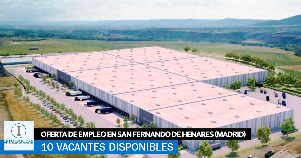 Se Necesitan 10 Mozos de Almacén en San Fernando de Henares (Madrid)