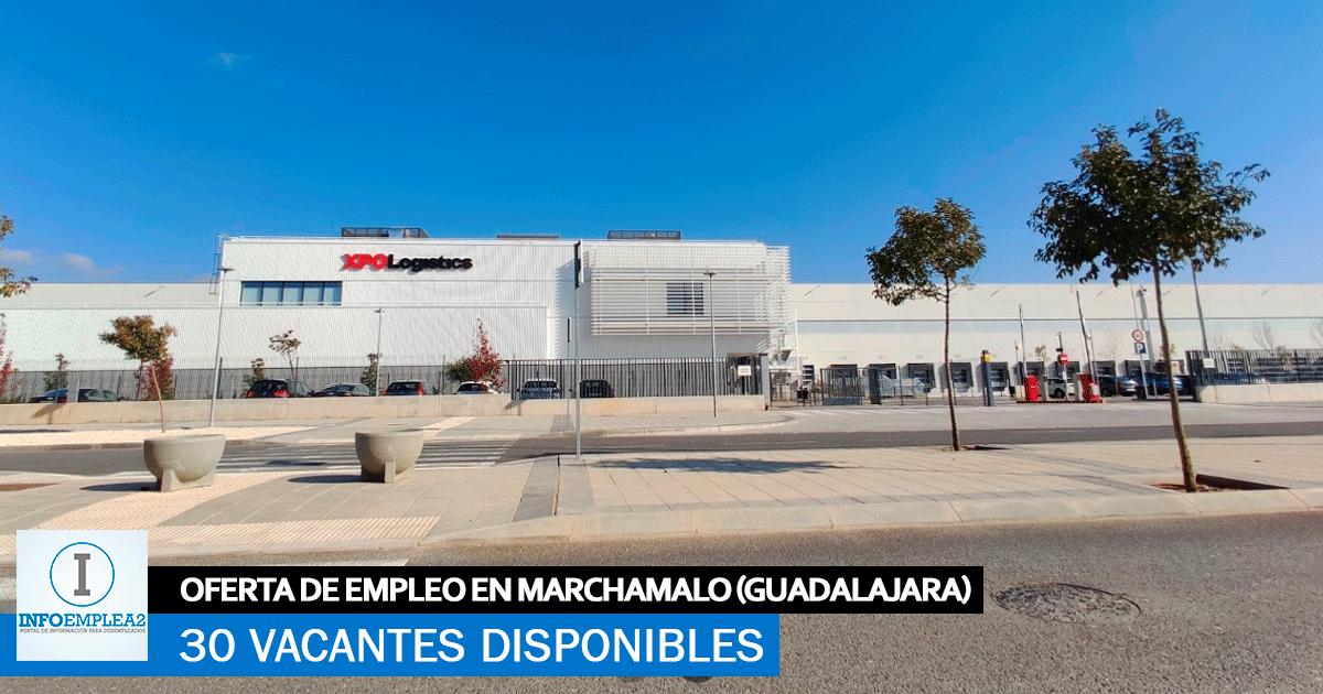 Se Necesitan 30 Trabajadores en Marchamalo (Guadalajara) para el Centro Logístico XPO
