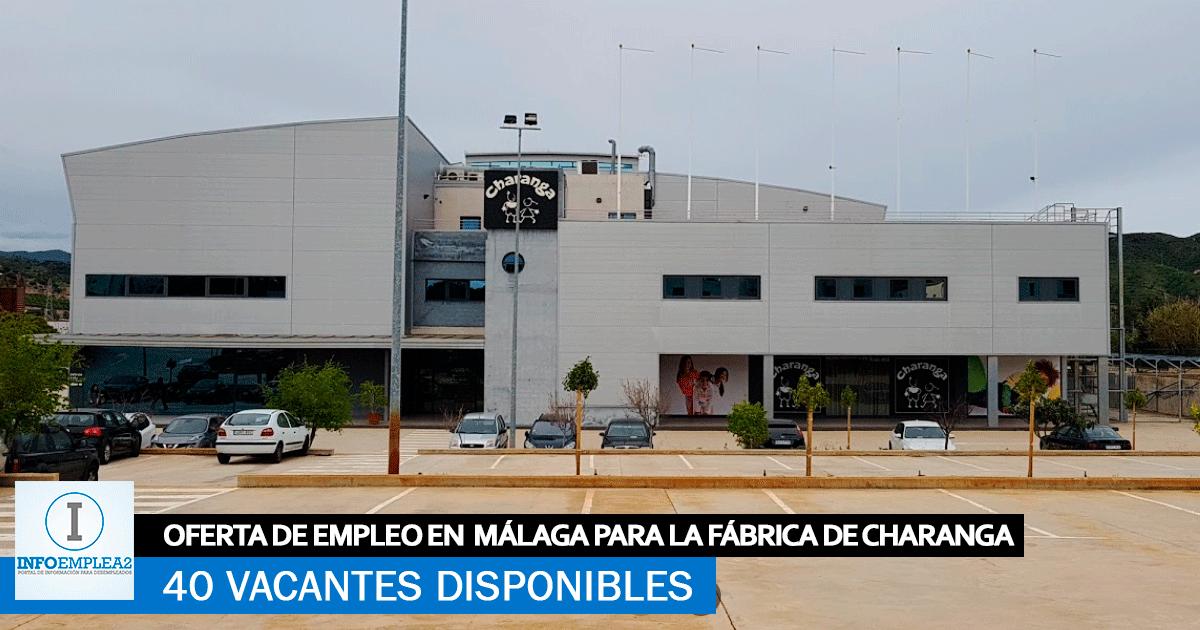 Se Necesitan 40 Trabajadores en Málaga para Trabajar en la Fábrica de Charanga