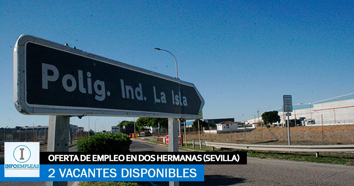 Se Necesitan Personal en Dos Hermanas (Sevilla) para Centro Logístico