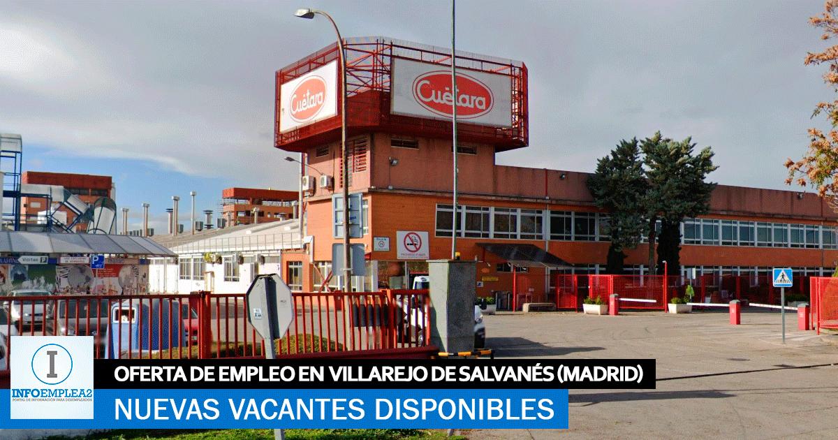 Se Necesitan Personal en Villarejo de Salvanés (Madrid) para Fábrica de Galletas