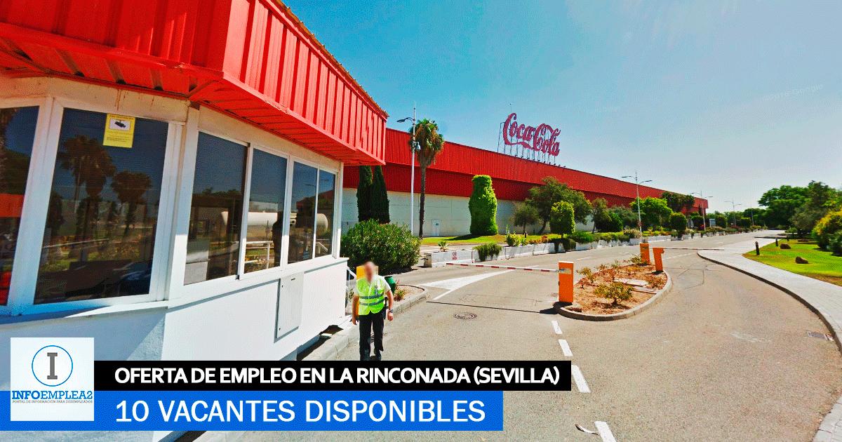 Se necesitan 10 Trabajadores en La Rinconada (Sevilla) para la Fábrica de Coca Cola