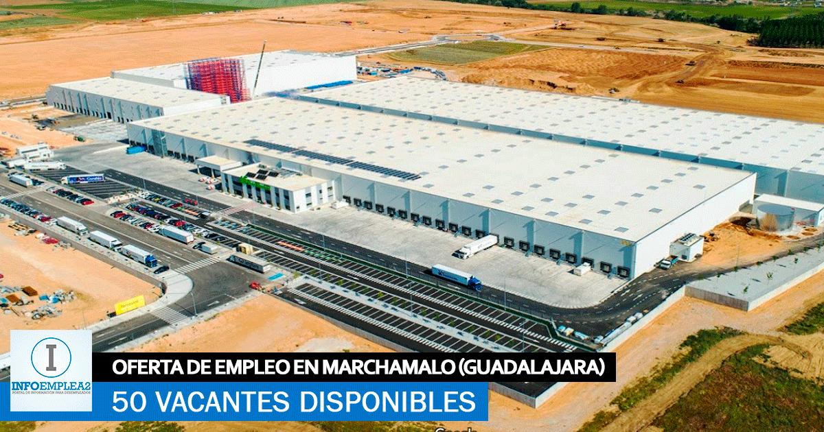 Se necesitan 50 Trabajadores en Marchamalo (Guadalajara) para Centro Logístico