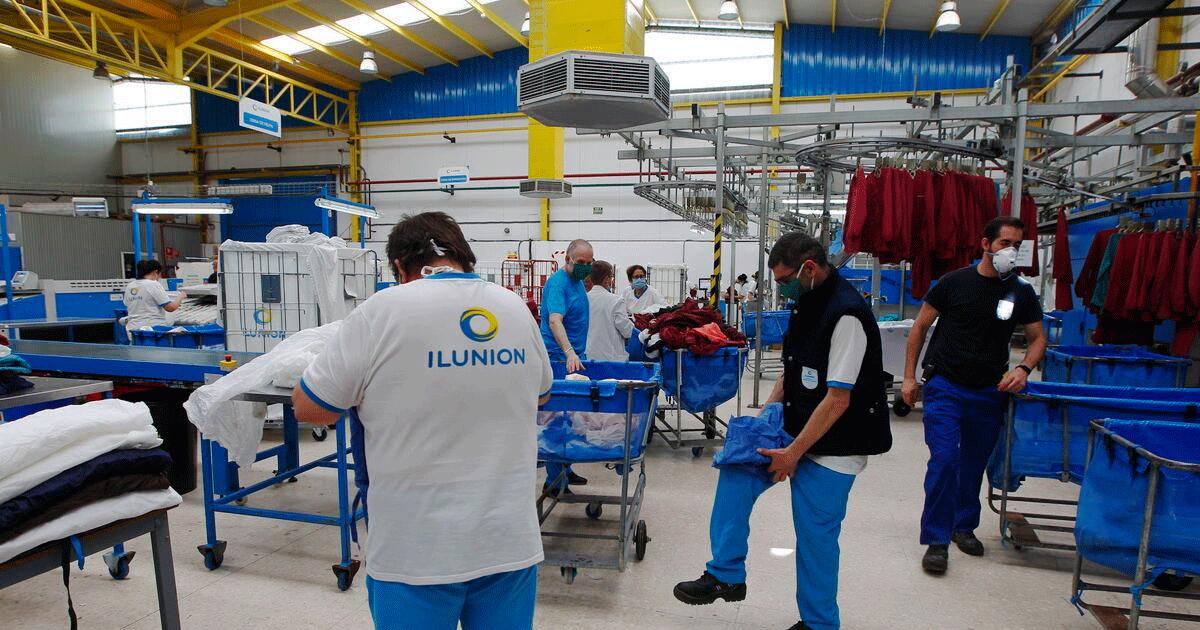 Se Necesita 93 Personas para Trabajar en la Empresa de Limpiezas ILUNION LAVANDERÍAS