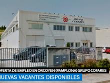 Se Necesita Personal Orcoyen (Pamplona) para GRUPO COFARES
