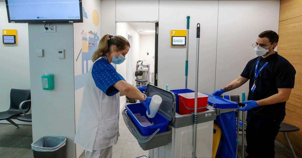 Se Necesita Personal de Limpieza para Trabajar en el Centro de QUIRÓNSALUD