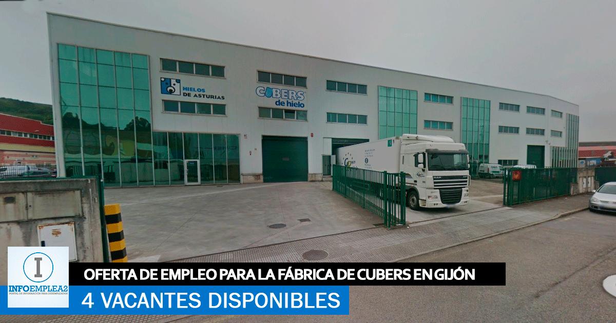 Se Necesita Personal en Gijón para la Fábrica de Cubitos CUBERS
