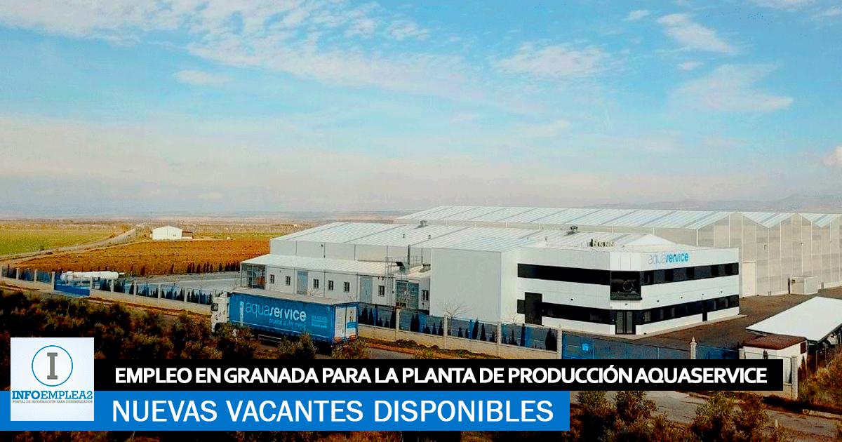 Se Necesita Personal para la Planta de AQUASERVICE en Granada