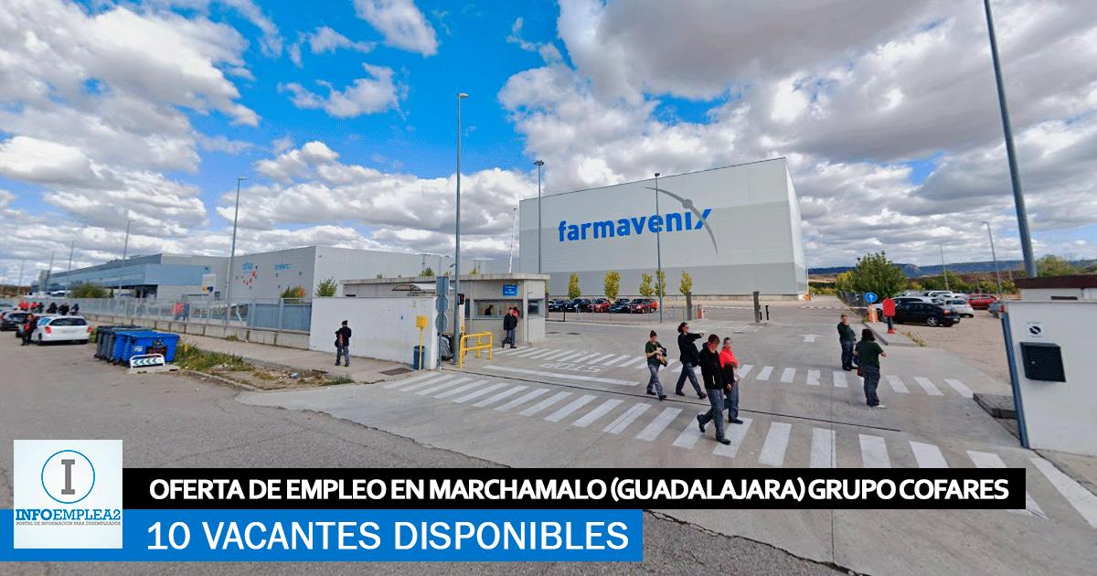 Se Necesitan 10 Trabajadores en Marchamalo (Guadalajara) para Grupo Cofares