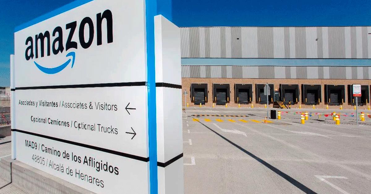 Se Necesitan 20 Personas para Trabajar en el Centro Logístico de Amazon en Alcalá de Henares