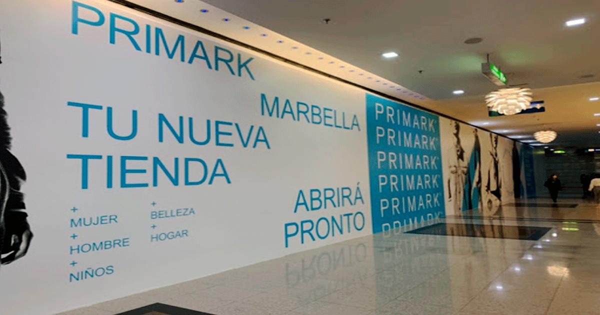 Se Necesita Personal para en Marbella (Málaga) para Trabajar en PRIMARK