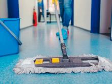 trabajos de limpieza en la empresa Mitie