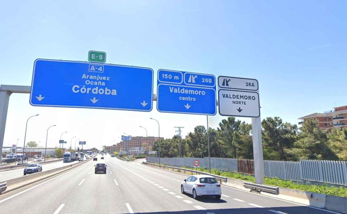 centro logístico en Valdemoro