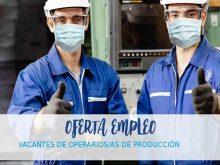 Fábrica Industrial en Salamanca ofrece 40 vacantes como operario de producción