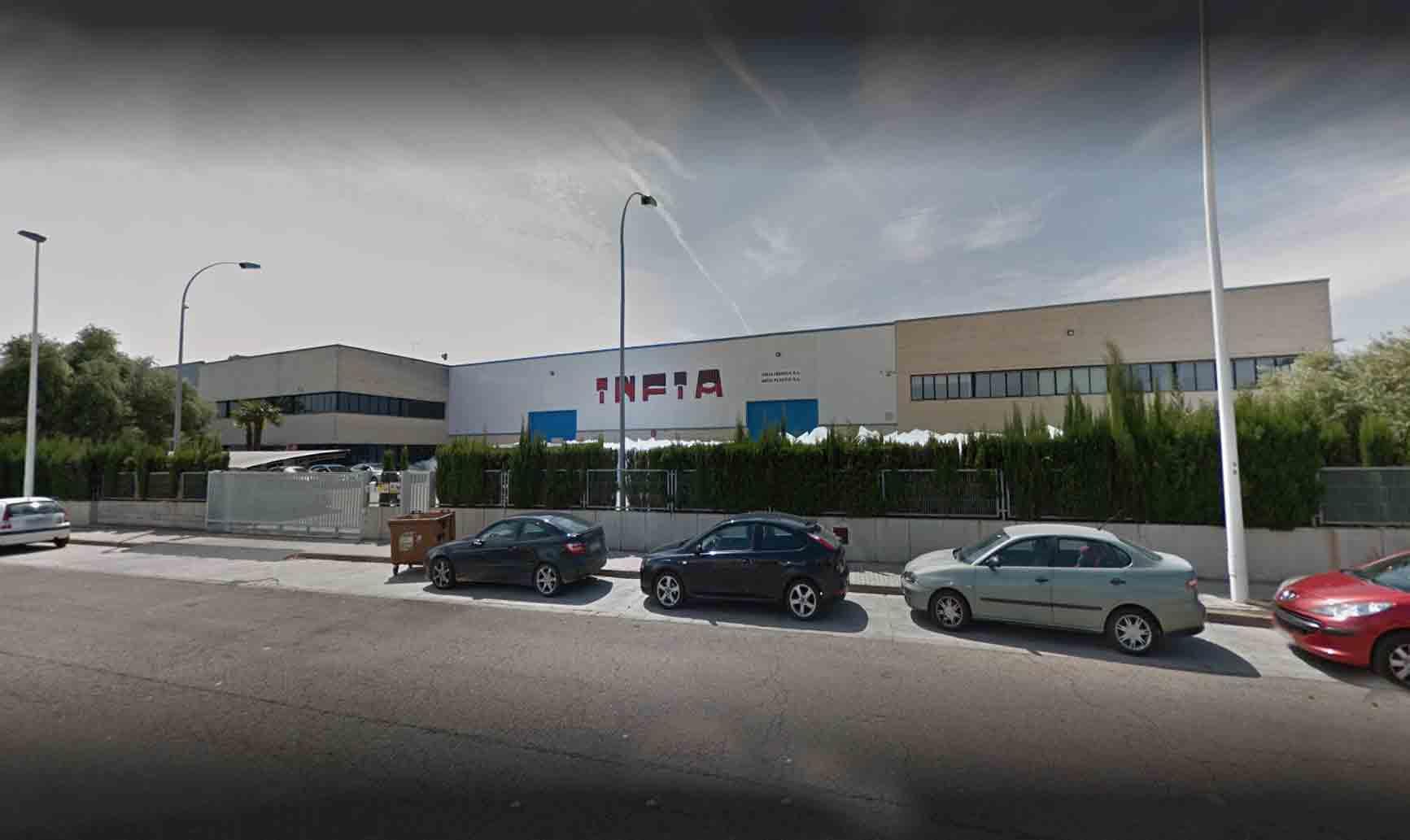 Fábrica en Valencia