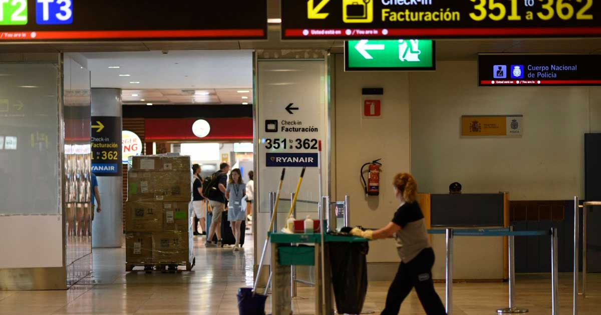 Se necesita Personal de limpieza para Trabajar en el Aeropuerto de Madrid