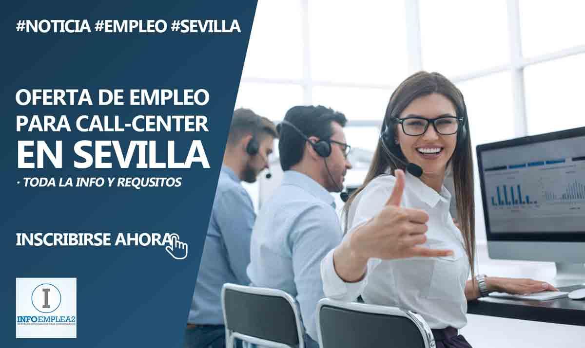Se necesitan teleoperadores para Call-Center en Sevilla