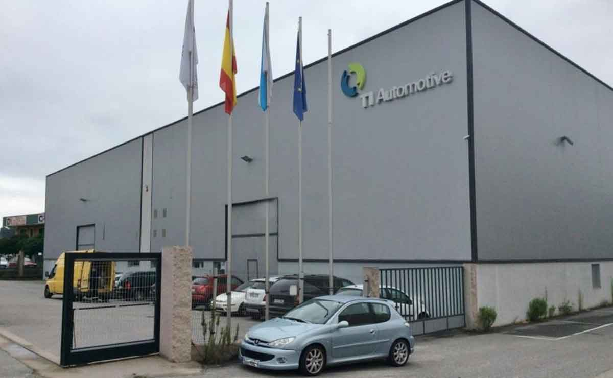 Fabrica TI Automotive en Tauste, Zaragozaa